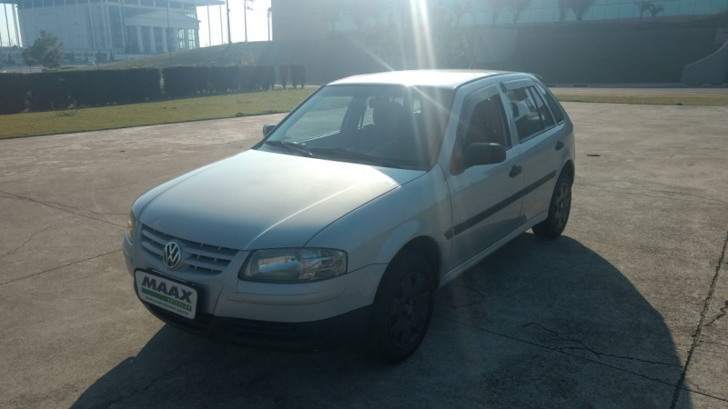 VOLKSWAGEN GOL 1.6 MI POWER 8V FLEX 4P MANUAL G.IV