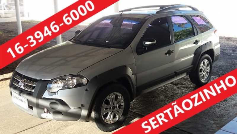 FIAT PALIO 1.8 MPI ADVENTURE LOCKER WEEKEND 8V FLEX 4P AUTOMATIZADO