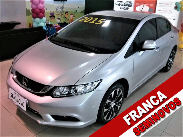 HONDA CIVIC SEDAN LXR 2.0 FLEXONE 16V AUT.