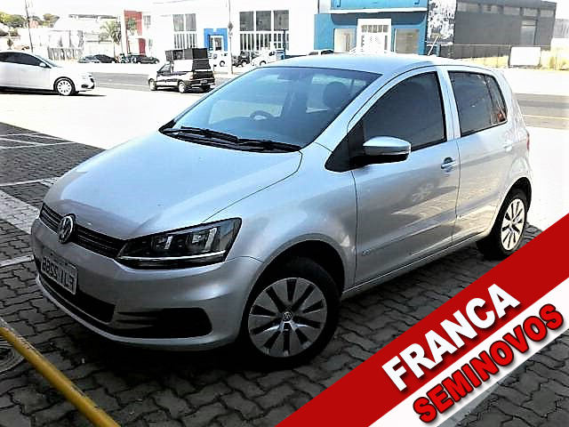 VOLKSWAGEN FOX 1.6 MSI TRENDLINE 8V FLEX 4P MANUAL