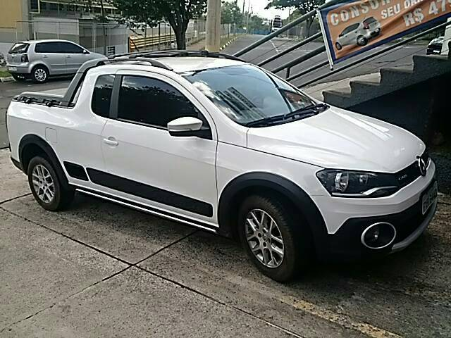 VOLKSWAGEN SAVEIRO 1.6 CROSS CE 16V FLEX 2P MANUAL