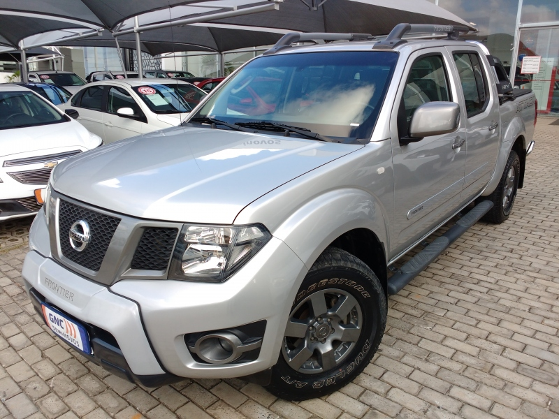 NISSAN FRONTIER 2.5 SV ATTACK 4X4 CD TURBO ELETRONIC DIESEL 4P AUTOMATICO