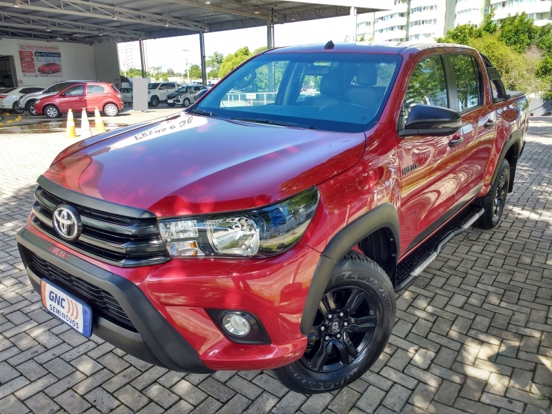 TOYOTA HILUX 2.8 SR CHALLENGE 4X4 CD 16V DIESEL 4P AUTOMATICO